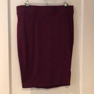 Torrid size 1 pencil skirt